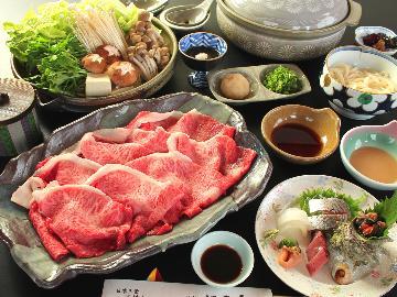 やっぱりお肉も地魚も食べたい☆欲張りさんも満足・牛しゃぶ&プチ会席プラン!