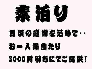 【全てのお客様に感謝を・・・特別セール☆】天然温泉でゆったり♪1名¥4800円~【素泊まり】