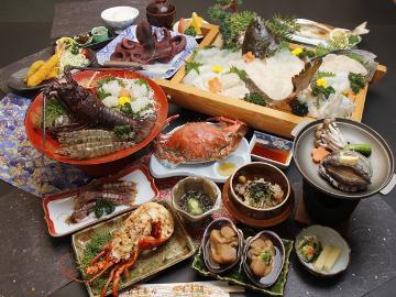 【最上級】伊勢海老+アワビ+タコ★堪能♪日間賀フルコース[1泊2食付]