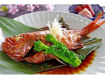 【1泊2食】定番!金目鯛と言ったら姿煮でスタンダードプラン《WEB予約限定料金》