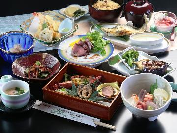 【スタンダード】上質な四季折々の食材でおもてなし♪岐阜県 中津川を味わい尽くす 1泊2食付