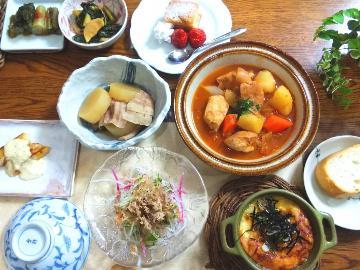 【スタンダード】新鮮な自家製野菜と旬の食材をふんだんに~竹屋のこだわり創作料理~《1泊2食付》