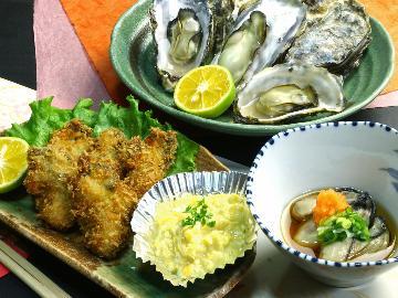 風味豊かで一口頬張れば幸せ絶頂( *´艸`)海のミルク:『若狭牡蠣』海鮮コース