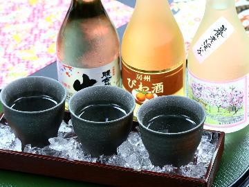 【地酒厳選3種飲み比べ】女将選りすぐりの千葉の銘酒3種をお試し!お気に入りを探してみては?