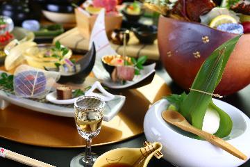 【人気NO.1 贅沢露天風呂付き離れプラン】贅沢な食事と温泉をお楽しみください ≪2食付≫