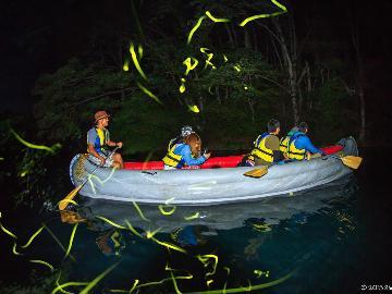 【湖上ホタルツアー】湖上で幻想的なホタルの乱舞を♪お得なレジャーイベントセット≪一泊二食≫