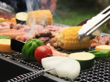 【夕食はBBQ】+☆家族と仲間とわいわい夕食にバーベキュー☆+ ≪一泊二食≫