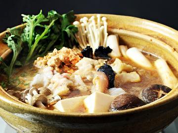 【冬季限定】これぞご当地食材!茨城が誇る東の鍋の横綱「あんこう」をあますことなく堪能《地酒特典付き》