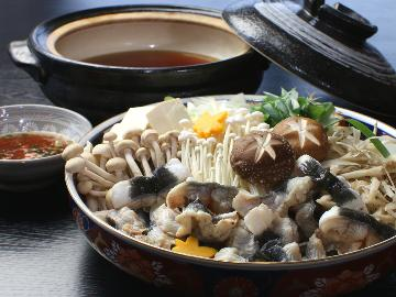 【うなぎのじゅんじゅん鍋】長浜地区の郷土料理 ( ^_^)o琵琶湖うなぎ堪能コース