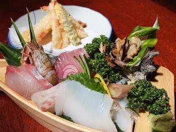 地元の新鮮な海の幸を堪能♪リーズナブルな海鮮料理コース★