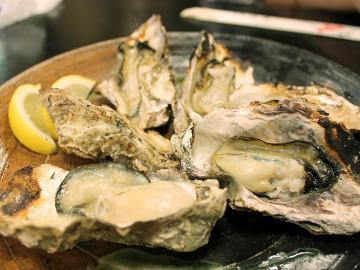 【カキ三昧】☆答志島産のブランド牡蠣『桃こまち』食べつくし♪[1泊2食付]