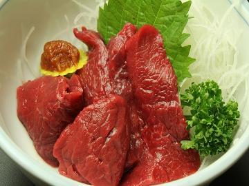 ◆【名物料理】会津の名産馬刺しと源泉掛け流し温泉で癒やし旅☆[1泊2食]