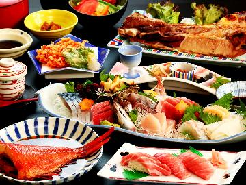 【個室食】金目鯛・桜エビ・トロ握り・・静岡の味覚満載★