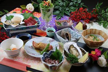 【スタンダード】料理自慢!!漁師宿の新鮮海の幸満喫!一番人気【一泊二食】迷ったらコレ☆