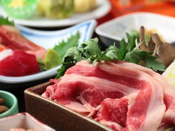 【越後牛 すき焼き】&海と山の美味しいモノの詰め合わせ♪スタンダードの1泊2食付き