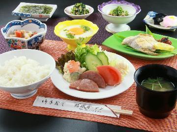 【1泊朝食付】チェックイン22時まで!たっぷり朝ごはん付のプラン